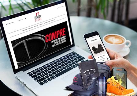 Compras de produtos licenciados pela Teston já pode ser feita pela internet